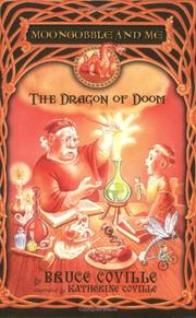 Cover of: The Dragon of Doom (Moongobble and Me )