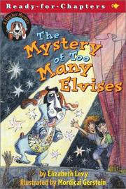 Cover of: The Mystery of Too Many Elvises: A Fletcher Mystery (Ready-for-Chapters)