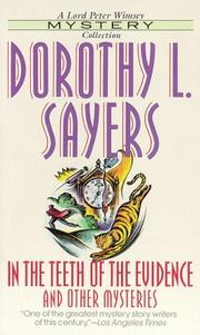 Cover of: In the Teeth of the Evidence (Lord Peter Wimsey Mysteries (Paperback)) | Dorothy L. Sayers