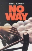 Cover of: No way