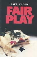 Cover of: Fair play