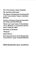 Cover of: From the history of KL-Auschwitz |