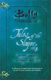 Cover of: Tales of the Slayer, Volume 3