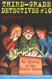 Cover of: The Mystery of the Stolen Statue (Third-Grade Detectives)