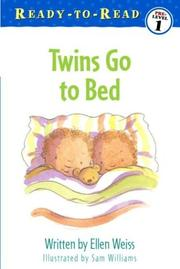 Cover of: Twins go to bed | Ellen Weiss