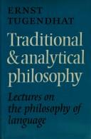 Cover of: Traditional and analytical philosophy