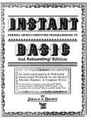Cover of: Instant freeze-dried computer programming in BASIC | Jerald Brown