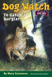 Cover of: To Catch a Burglar (Dog Watch)