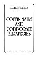 Cover of: Coffin nails and corporate strategies