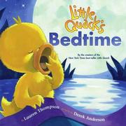 Cover of: Little Quack's bedtime