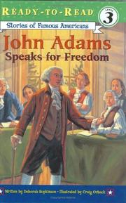 Cover of: John Adams speaks for freedom | Deborah Hopkinson
