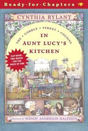 Cover of: In Aunt Lucy's Kitchen/A Little Shopping: The Cobble Street Cousins #1-2 (Cobble Street Cousins)