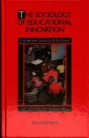 Cover of: sociology of educational innovation | Whiteside, Tom.