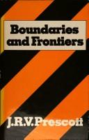 Cover of: Boundaries and frontiers