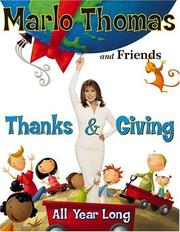Cover of: Thanks & Giving | Marlo Thomas