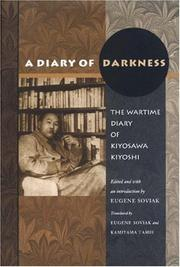 Cover of: A diary of darkness