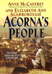Cover of: Acorna's people by Anne McCaffrey