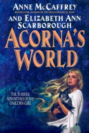 Cover of: Acorna's world by Anne McCaffrey