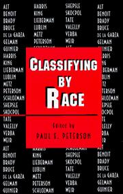 Cover of: Classifying by Race | Edited by Paul E. Peterson
