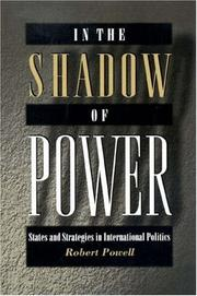 Cover of: In the shadow of power