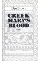 Cover of: Creek Mary's blood: a novel
