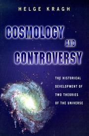 Cover of: Cosmology and Controversy | Helge Kragh