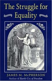 Cover of: The struggle for equality