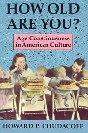Cover of: How Old Are You? | Howard P. Chudacoff