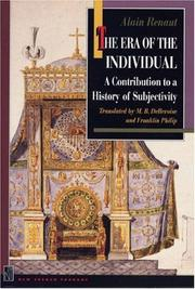 Cover of: The era of the individual