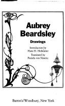 Cover of: Aubrey Beardsley, drawings | Aubrey Vincent Beardsley