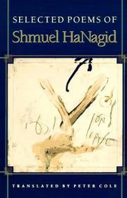 Cover of: Selected poems of Shmuel HaNagid