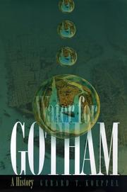 Cover of: Water for Gotham | Gerard T. Koeppel