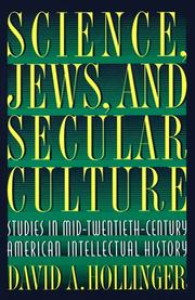 Cover of: Science, Jews, and secular culture | David A. Hollinger