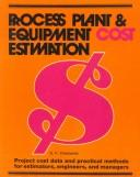 Cover of: Process plant and equipment cost estimation