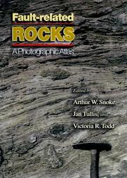 Cover of: Fault-related rocks |