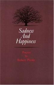 Cover of: Sadness and happiness