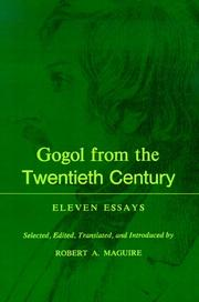 Cover of: Gogol From the Twentieth Century | Robert A. Maguire