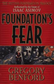 Cover of: Foundation's fear