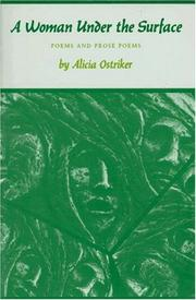 Cover of: A woman under the surface: poems and prose poems
