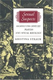 Cover of: Sexual suspects | Kristina Straub