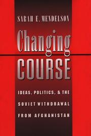 Cover of: Changing course | Sarah Elizabeth Mendelson