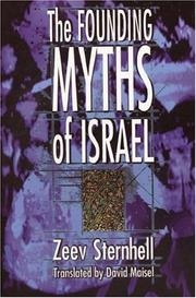 Cover of: The founding myths of Israel | Zeev Sternhell