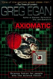 Cover of: Axiomatic
