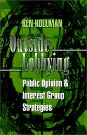 Cover of: Outside lobbying