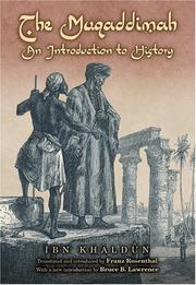 Cover of: The Muqaddimah, an introduction to history