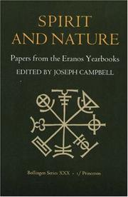 Cover of: Spirit and Nature | Joseph Campbell