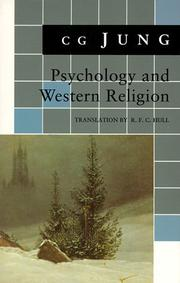 Cover of: Psychology and Western Religion: (From Vols. 11, 18 Collected Works) (Jung Extracts)