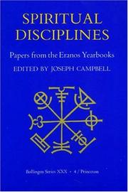 Cover of: Spiritual Disciplines:   Papers from the Eranos Yearbooks. (Papers from the Eranos Yearbooks)