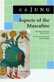 Cover of: Aspects of the masculine