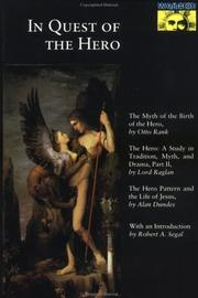 Cover of: In quest of the hero